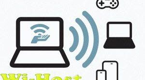 تحميل برنامج تحويل اللابتوب لراوتر 2018Wi Host