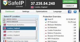 تحميل برنامج تغيير الاي بي SafeIP