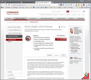 Download Comodo Dragon browser