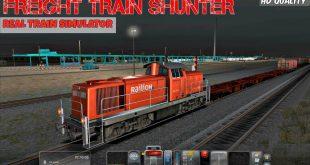 تحميل لعبة قيادة القطارات 2018 freight train simulator