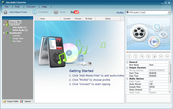 تحميل برنامج Any Audio Converter