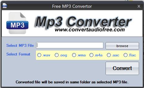 تحميل برنامج Free MP3 Converter