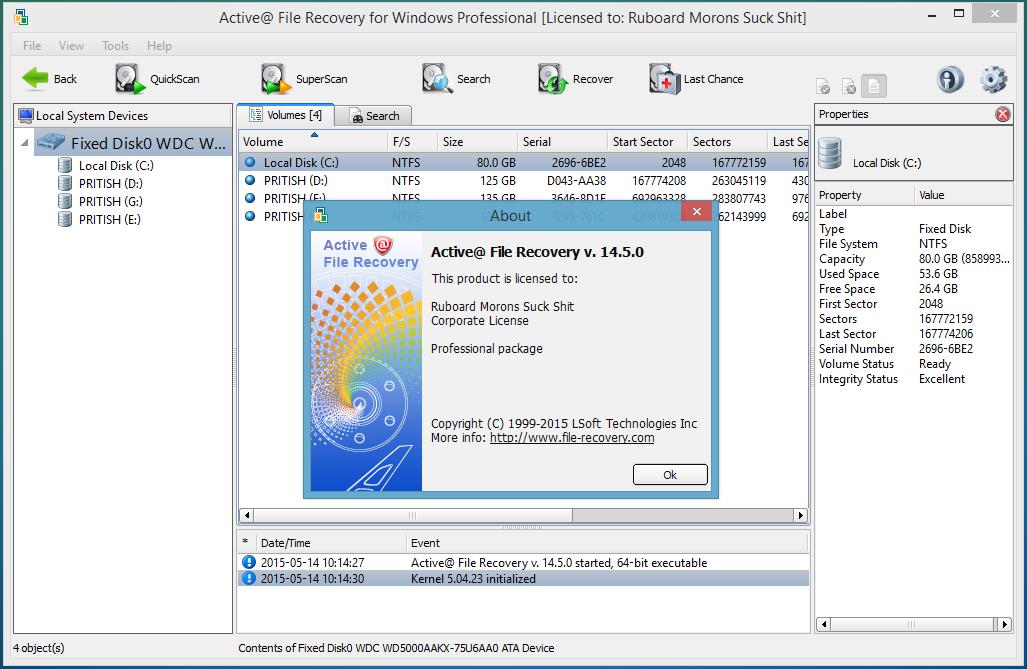 تحميل برنامج active file recovery