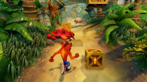 لعبة كراش Crash Bandicoot